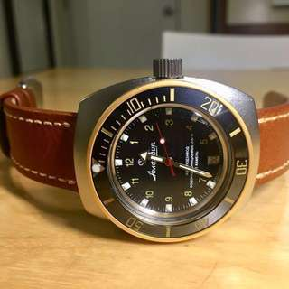Modded Vostok Amphibia Automatic 200M Dive Watch