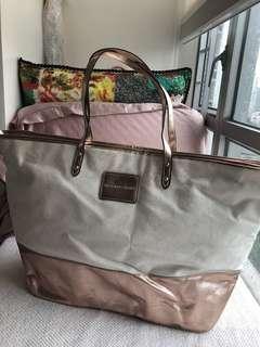 Victoria secret zip Tote bag