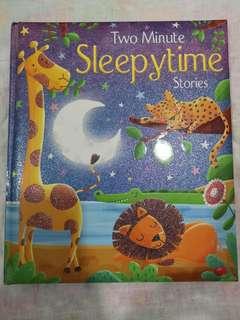 2 minutes Sleepy time stories