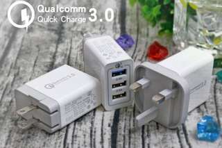 Qualcomm USB charging plug - 100% new