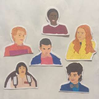Stickers (Stranger Things)
