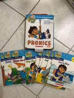 Scholastics Go Diego go phonics pack 1