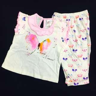 230-0002 Baby Girl Cute Set Wear