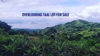 Tagaytat lot for sale overlooking Taal