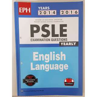 PSLE Exam Yearly 2014-2016