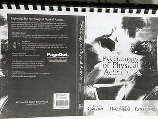 🚚 Psychology of Physical Activity