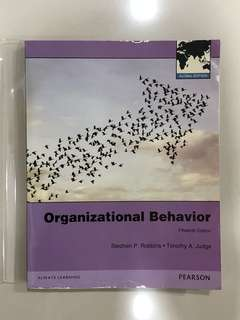 Organizational behavior Stephen P. Robbins, Timothy a. Judge