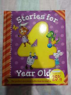 Stories for 4 year old