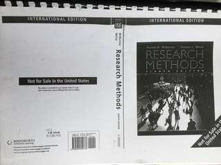 🚚 Research Methods Textbook