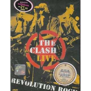 The Clash Live Revolution Rock DVD