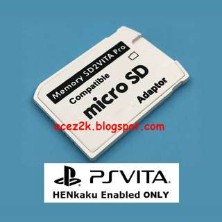 [BN] PSV PS Vita SD2VITA PRO v5 MicsoSD Card Adapter for HENkaku (Brand New)