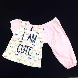 230-0006 Girl Cute Set Wear