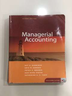 Managerial Accounting (Asia Global Exition)