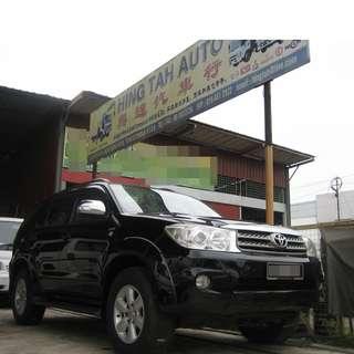 Toyota Fortuner 2.5 G 4X4 Turbo Diesel 1 Owner AUTO