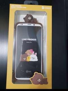 (全新) Line Friends 熊大手機套 for Samsung Galaxy S9+