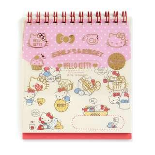 Japan Sanrio Hello Kitty Cutting Letter Memo & Mini Envelope Set