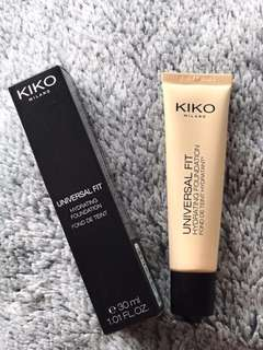 🚚 BNIB Kiko Milano Universal Fit Foundation (Neutral 30)