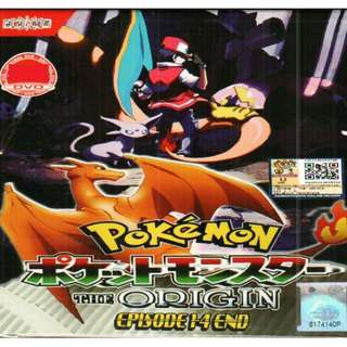 Pokemon The Origin Ep 1-4 End Anime DVD