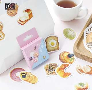 [PO] Box Stickers: Remember to eat breakfast