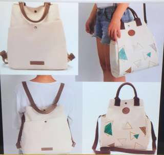 Sling canvas or backpack canvas