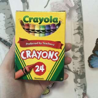 Crayola Crayons 24 pieces (onhand)