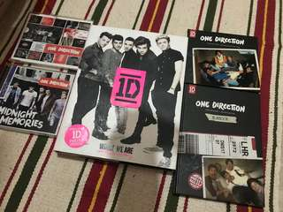 One Direction 專輯n書