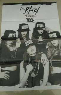 Kpop posters from yg
