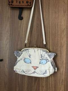 日本root tote 貓咪袋