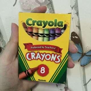 Crayola Crayons 8 pieces (onhand)