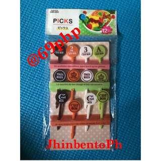 Bento Tools Asstd Food Picks