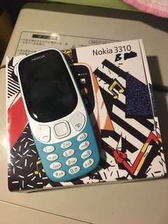 全新Nokia 3310(藍色)水貨(不議)