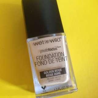 Wet n Wild Foundation 368 Golden Beige