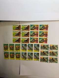 Clearing Stocks: Tanzania Animals Set of 5 X 6 Sets China