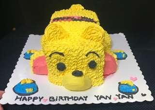小熊維尼 Winnie the Pooh 蛋糕