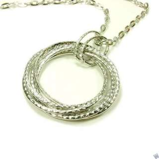 Retro long necklace FN259