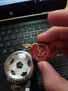 世界盃金至尊3D GOLD 手錶 【全新】