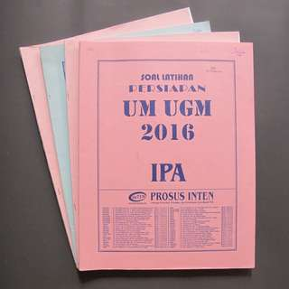 Buku Soal SBMPTN, SIMAK UI, Soal Try Out, dan Ujian Mandiri PTN 2016 Prosus INTEN