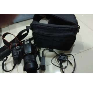 Sony A3000- Condition Tiptop !! - 10/10 - 18-55mm Lens - RM880