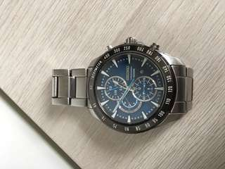 SEIKO 7T92 Analogue Chronograph Watch