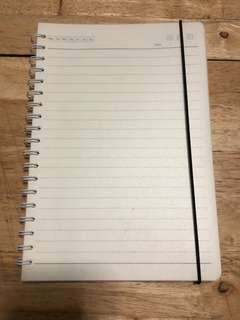 MUJI inspired lined notebook