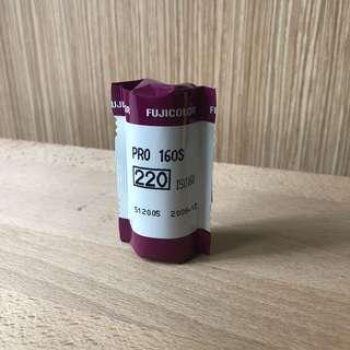 120 Film Fujicolor Pro 160S (Expired)