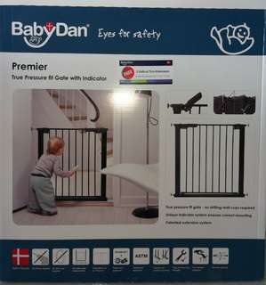 Babydan premier pressure fit safety gate