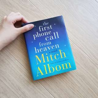NOVEL INGGRIS - The First Phone Call From Heaven by Mitch Albom
