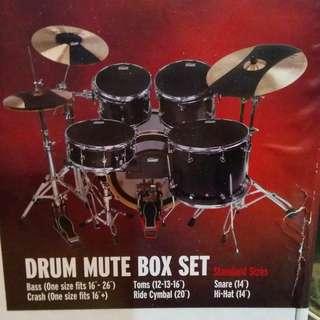 EVANS drum mute Box Set