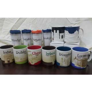 Starbucks Mugs and Tumblers