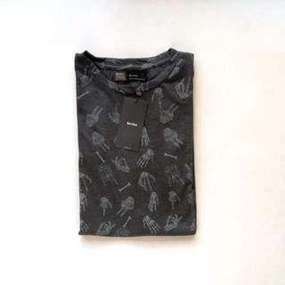 Bershka Printed Shirt (OVERRUNS)
