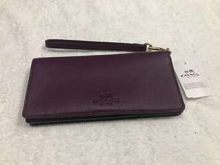 Authentic Coach Leather wallet #Coach #leather #wallet