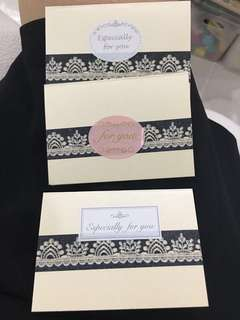 Gift cards (without envelopes)