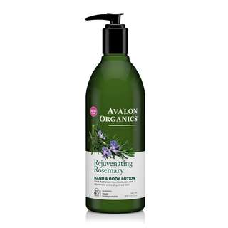Avalon Organics Rosemary Hand And Body Lotion 340ml