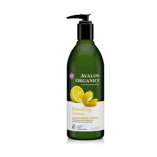 Avalon Organics Lemon Hand And Body Lotion 340ml